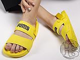 Женские шлепанцы Hyuna x Puma Leadcat YLM Lite Sandal Yellow 37073304, фото 4