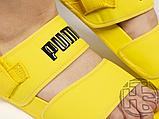 Женские шлепанцы Hyuna x Puma Leadcat YLM Lite Sandal Yellow 37073304, фото 5
