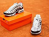 Чоловічі кросівки Nike Air Max Plus White/Black 852630-100, фото 3