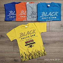 Подростковая футболка для мальчика р. 9-12 лет