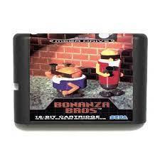 Картридж для Sega Bonanza Bros