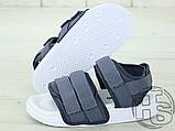 Жіночі сандалі Adidas Originals Adilette Sandal Grey/White CQ2672, фото 2