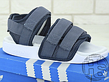 Жіночі сандалі Adidas Originals Adilette Sandal Grey/White CQ2672, фото 4