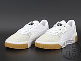 Жіночі кросівки Puma Cali Exotic White Grey Gum 369653-01, фото 2