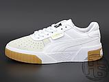 Жіночі кросівки Puma Cali Exotic White Grey Gum 369653-01, фото 3