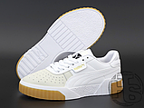 Жіночі кросівки Puma Cali Exotic White Grey Gum 369653-01, фото 4