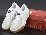 Жіночі кросівки Puma Cali Exotic White Grey Gum 369653-01, фото 5