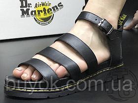 Жіночі сандалі Dr. Martens Blaire Hydro Leather Gladiator Sandals Black 24235001