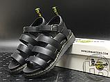 Женские сандалии Dr. Martens Blaire Hydro Leather Gladiator Sandals Black 24235001, фото 7