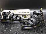 Женские сандалии Dr. Martens Blaire Hydro Leather Gladiator Sandals Black 24235001, фото 8