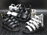 Женские сандалии Dr. Martens Blaire Hydro Leather Gladiator Sandals Black 24235001, фото 9