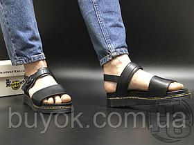 Жіночі сандалі Dr. Martens Voss Leather Strap Sandals Black 23802001
