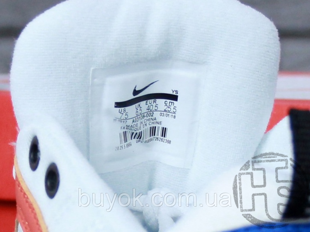 Женские кроссовки Nike M2K Tekno Summit White/Black/Team Orange AO3108-101