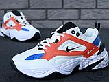 Женские кроссовки Nike M2K Tekno Summit White/Black/Team Orange AO3108-101, фото 2
