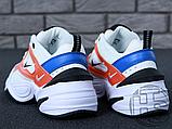 Женские кроссовки Nike M2K Tekno Summit White/Black/Team Orange AO3108-101, фото 4