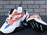 Женские кроссовки Nike M2K Tekno Summit White/Black/Team Orange AO3108-101, фото 5