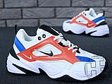Женские кроссовки Nike M2K Tekno Summit White/Black/Team Orange AO3108-101, фото 6