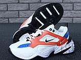 Женские кроссовки Nike M2K Tekno Summit White/Black/Team Orange AO3108-101, фото 8