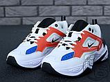 Женские кроссовки Nike M2K Tekno Summit White/Black/Team Orange AO3108-101, фото 9