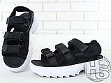 Жіночі сандалі Fila Disruptor 2 Sandal Black White FS1HTZ3082X, фото 2