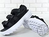 Жіночі сандалі Fila Disruptor 2 Sandal Black White FS1HTZ3082X, фото 4