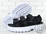 Жіночі сандалі Fila Disruptor 2 Sandal Black White FS1HTZ3082X, фото 7