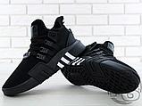 Чоловічі кросівки Adidas EQT Basketball Adv Black/White CQ2991, фото 2