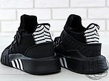 Чоловічі кросівки Adidas EQT Basketball Adv Black/White CQ2991, фото 4
