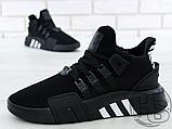 Чоловічі кросівки Adidas EQT Basketball Adv Black/White CQ2991, фото 5