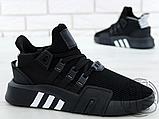 Чоловічі кросівки Adidas EQT Basketball Adv Black/White CQ2991, фото 7