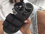 Чоловічі сандалі New Balance Beach Couple Sports Sandals Total Black, фото 3