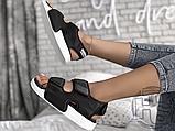 Женские сандалии Adidas Original Adilette Sandal 3.0 Black White EG5025, фото 3