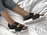 Женские сандалии Adidas Original Adilette Sandal 3.0 Black White EG5025, фото 5