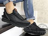 Чоловічі кросівки Nike Daybreak Undercover Triple Black, фото 2