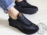 Чоловічі кросівки Nike Daybreak Undercover Triple Black, фото 3