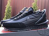 Чоловічі кросівки Nike Daybreak Undercover Triple Black, фото 4