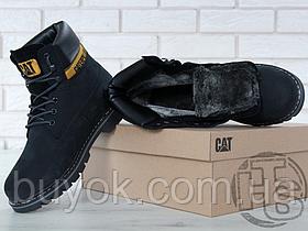 Женские ботинки Caterpillar Colorado Boot Winter Black (с мехом) P306829