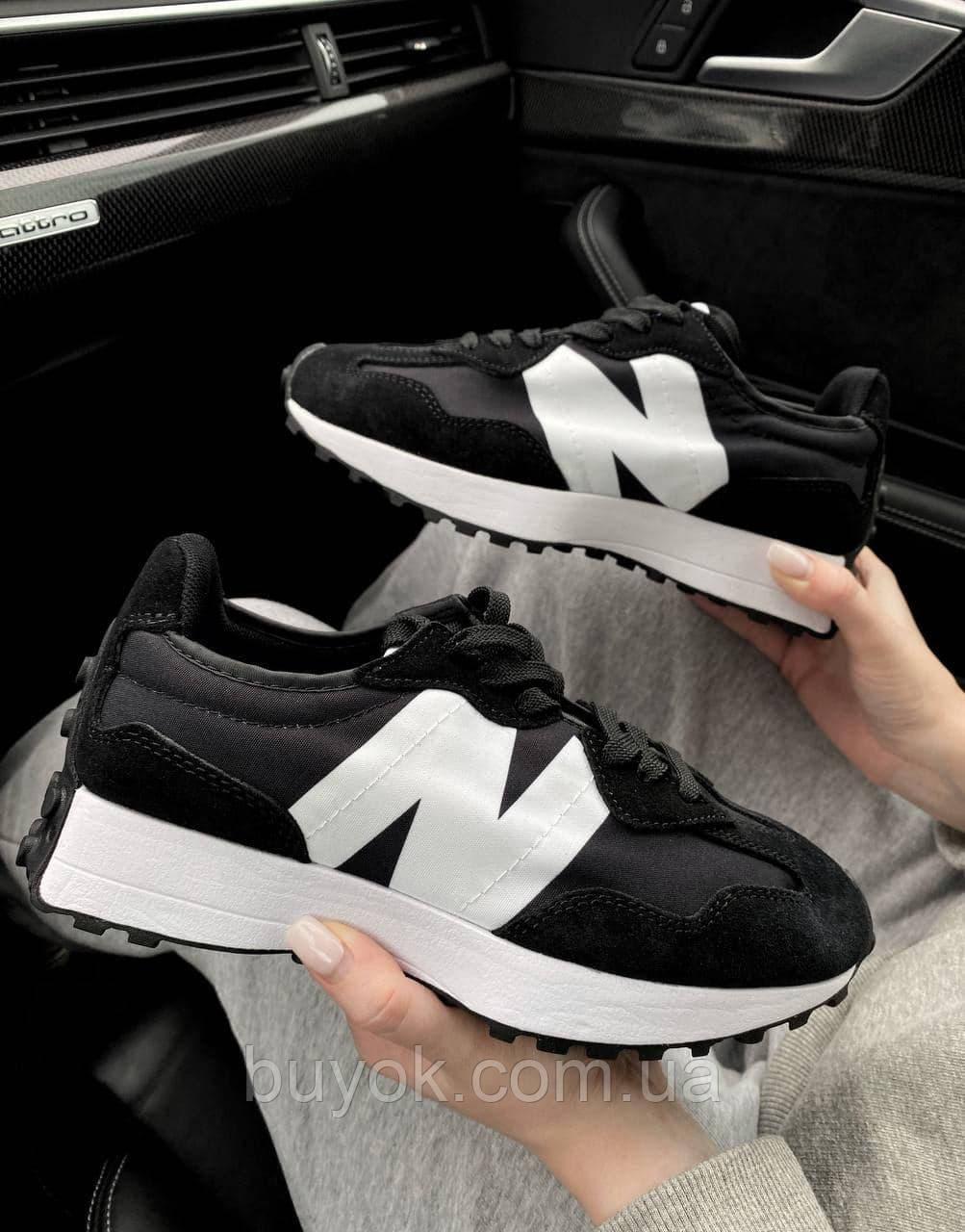 Жіночі кросівки New Balance 327 Black MS327CPG