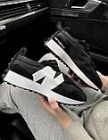 Жіночі кросівки New Balance 327 Black MS327CPG, фото 2