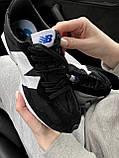 Жіночі кросівки New Balance 327 Black MS327CPG, фото 4