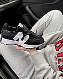 Жіночі кросівки New Balance 327 Black MS327CPG, фото 5