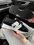 Жіночі кросівки New Balance 327 Black MS327CPG, фото 8