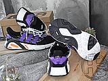 Чоловічі кросівки Adidas Lxcon Black/Purple, фото 2