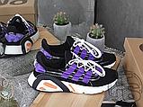 Чоловічі кросівки Adidas Lxcon Black/Purple, фото 4