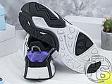 Чоловічі кросівки Adidas Lxcon Black/Purple, фото 7