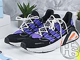 Чоловічі кросівки Adidas Lxcon Black/Purple, фото 9