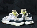 Мужские кроссовки Adidas Nite Jogger White Grey CG5950, фото 3