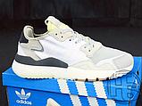 Мужские кроссовки Adidas Nite Jogger White Grey CG5950, фото 4