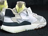 Мужские кроссовки Adidas Nite Jogger White Grey CG5950, фото 5
