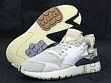 Мужские кроссовки Adidas Nite Jogger White Grey CG5950, фото 6